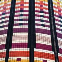 Il rivestimento in piastrelle Marazzi di Torre Arcobaleno