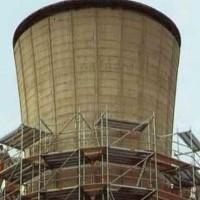 La torre dell'acqua prima del 1990